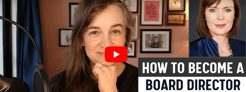 How to become a Board Director