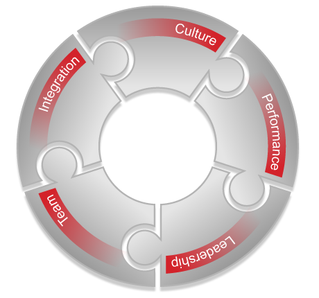 Diagram: TRANSEARCH Talent Wheel