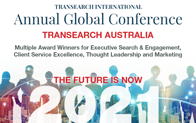 TRANSEARCH Australia wins multiple awards at 2021 TRANSEARCH International Global Conference